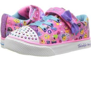 Sketchers Twinkle Toe Toddler Sneakers